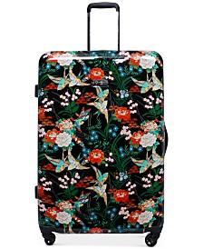 "Jessica Simpson Sweet Birds 25"" Spinner Suitcase"