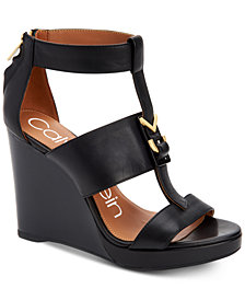 Calvin Klein Women's Racquel Wedge Sandals