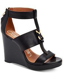 Calvin Klein Women's Racquel Wedge Sandals