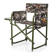 Oniva™ by Picnic Time Outdoor Green Directors Folding Chair