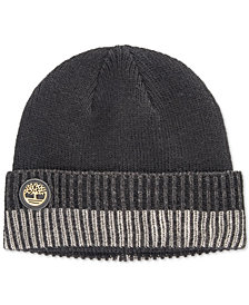 Timberland Men's Heat Retention Ribbed-Cuff Beanie, Created for Macy's