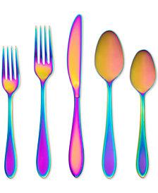 Cambridge Silversmiths Delia Rainbow Mirror 20-Piece Flatware Set