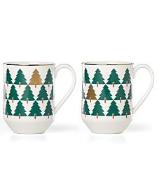 kate spade new york Pine Street Collection 2-Pc. Mug Set