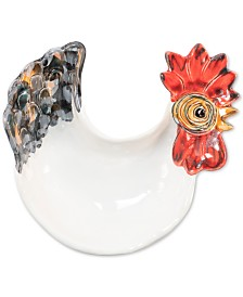 VIETRI Fortunata Rooster Footed Small Bowl