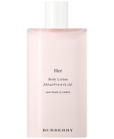 Burberry Her Body Lotion, 6.6-oz.