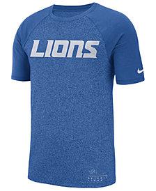 Nike Men's Detroit Lions Marled Raglan T-Shirt