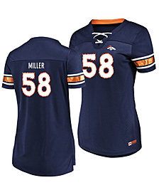 Majestic Women's Von Miller Denver Broncos Draft Him Shirt 2018