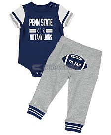 Colosseum Penn State Nittany Lions Football Creeper Pant Set, Infants (0-9 Months)