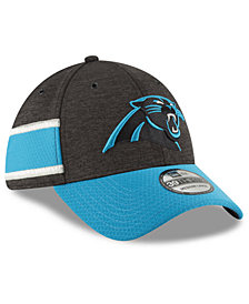 New Era Boys' Carolina Panthers Sideline Home 39THIRTY Cap