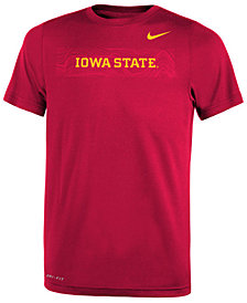 Nike Iowa State Cyclones Legend Sideline T-Shirt, Big Boys (8-20)