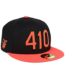 New Era Baltimore Orioles Area Code 59FIFTY FITTED Cap