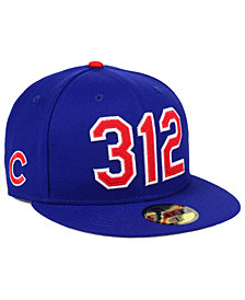 New Era Chicago Cubs Area Code 59FIFTY FITTED Cap