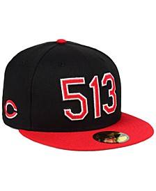 Cincinnati Reds Area Code 59FIFTY FITTED Cap