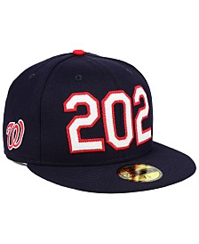 New Era Washington Nationals Area Code 59FIFTY FITTED Cap