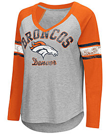 G-III Sports Women's Denver Broncos Sideline Long Sleeve T-Shirt