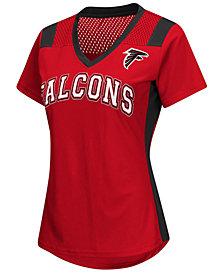 G-III Sports Women's Atlanta Falcons Wildcard Jersey T-Shirt