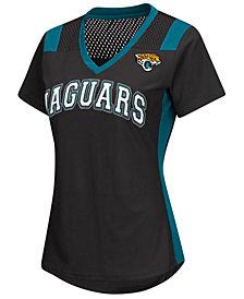 G-III Sports Women's Jacksonville Jaguars Wildcard Jersey T-Shirt