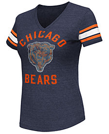 G-III Sports Women's Chicago Bears Wildcard Bling T-Shirt