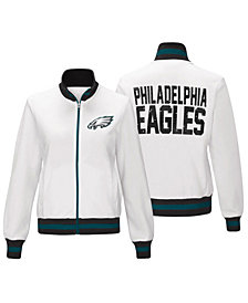 G-III Sports Women's Philadelphia Eagles Field Goal Track Jacket