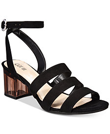 Bar III Rae Strappy Sandals, Created for Macy's