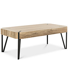 Liann Rustic Coffee Table, Quick Ship