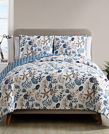 VCNY Home Antigua Reversible 2-Pc. Twin Quilt Set