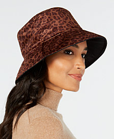 Nine West Velvet Rain Bucket Hat