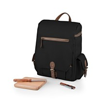 Legacy® by Picnic Time Black Moreno 3-Bottle Wine & Cheese Tote