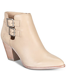 Frye Women's Jennifer Buckle Booties, Created for Macy's