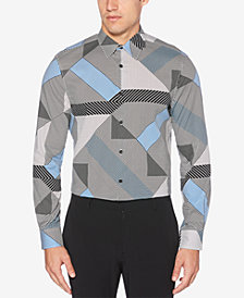 Perry Ellis Men's Geo-Print Shirt