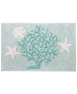 Beachcomber Cotton Bath Rug