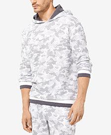 Michael Kors Men's Camo-Print Waffled Hoodie