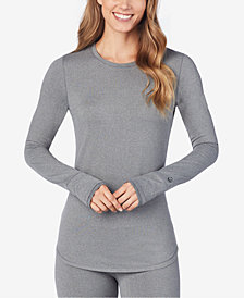 Cuddl Duds Smooth Layer Long-Sleeve Crew-Neck Top