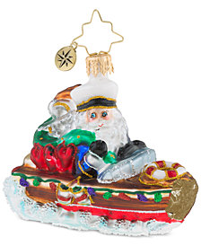 Christopher Radko Nautical Nick Little Gem Ornament