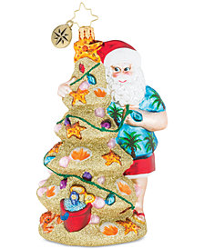 Christopher Radko Christmas In The Sand Ornament