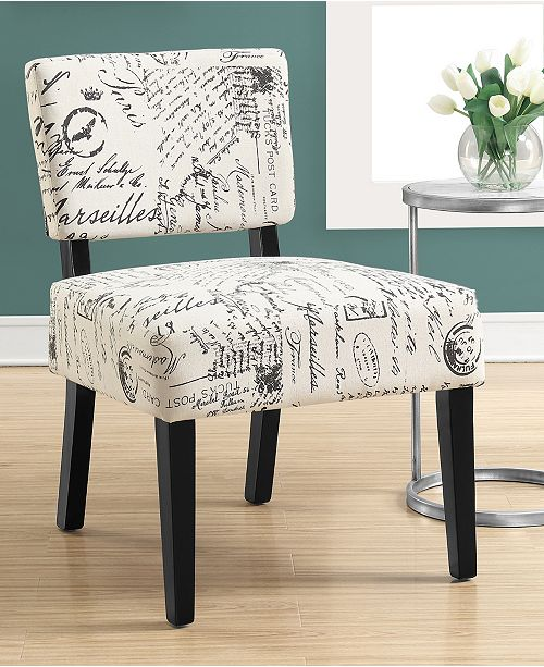 Wondrous Accent Chair Vintage French Fabric Ocoug Best Dining Table And Chair Ideas Images Ocougorg