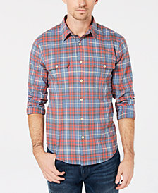 Lucky Brand Men's Plaid Utility Shirt