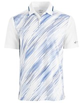 61536de0 Attack Life by Greg Norman Printed Performance Polo, Created for Macy's