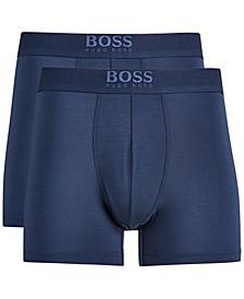 Men's 2-Pk. Ultra-Soft Boxer Briefs