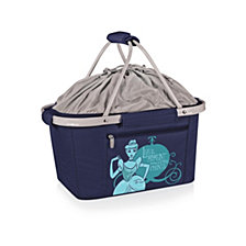 Picnic Time Disney's Cinderella Metro Basket Collapsible Cooler Tote
