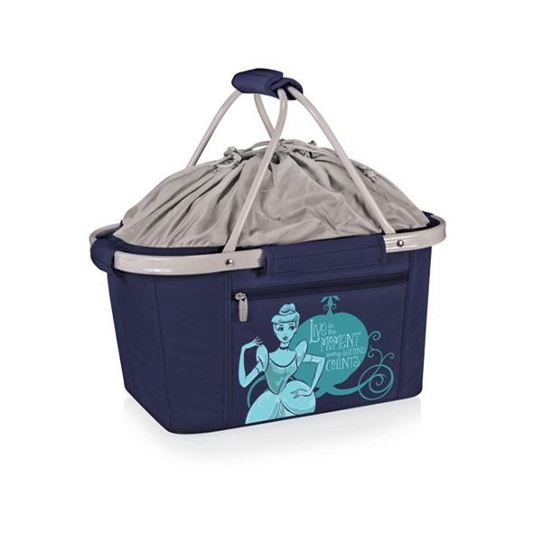 Picnic Time Oniva® by Disney's Cinderella Metro Basket Collapsible Cooler Tote