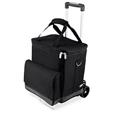 Legacy® by Picnic Time Cellar 6-Bottle Wine Carrier & Cooler Tote with Trolley