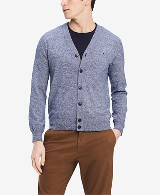 Tommy Hilfiger Mens Signature Cardigan Sweater Created For Macys