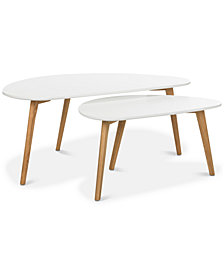 Olida 2-Pc. Double Coffee Table, Quick Ship