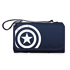 Picnic Time Captain America - Blanket Tote Outdoor Picnic Blanket