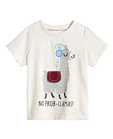 First Impressions Toddler Boys Llama-Print T-Shirt, Created for Macy's
