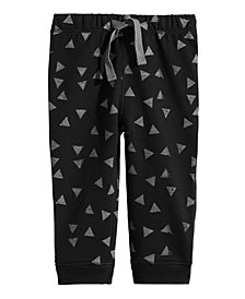 First Impressions Baby Boys Printed Jogger Pants, Created for Macy's
