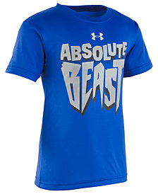 Under Armour Little Boys Beast-Print T-Shirt