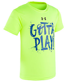 Under Armour Toddler Boys Play-Print T-Shirt