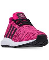 adidas Little Girls  Swift Run Running Sneakers from Finish Line a45d27ca184e